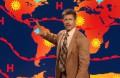 Брэд Питт провел прогноз погоды