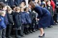 Беременная Кейт Миддлтон посетила детский сад в Лондоне
