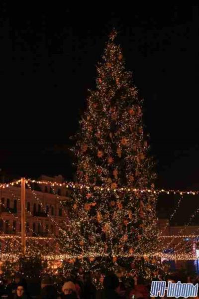 Главная елка страны с новогодними локациями