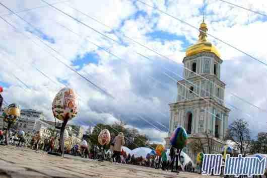 Всеукраинский фестиваль писанки: более 500 экспонатов ручной работы