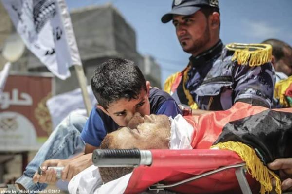 Похороны  героя : в Газе убит командир Бригад аль-Кассам