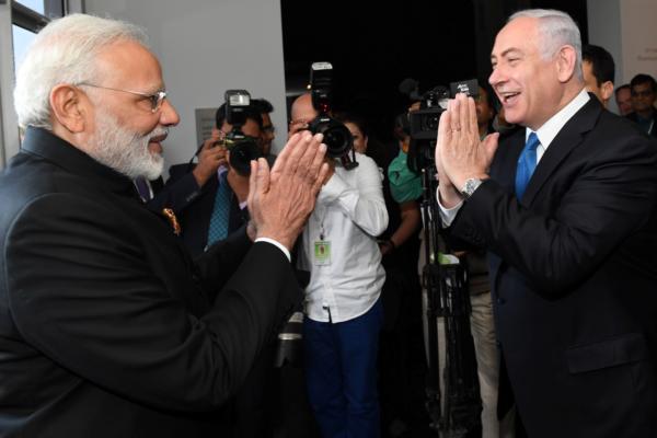 Премьер-министр Индии  посетил музей Израиля