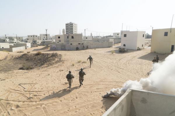 Совместные учения Эгоз и кипрского спецназа в Цеелим