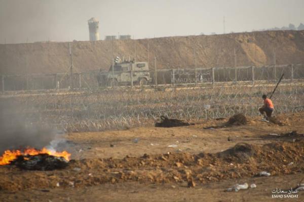 Горячий шабат на границе Газы
